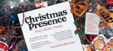 Christmas Presence Dec 8-9 to benefit Stephen's Backpacks