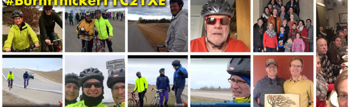 Cycling Challenge Tally: $11,946 Raised & 885km Biked!