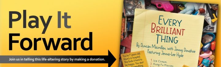 Partner with us to PLAY IT FORWARD by making a donation