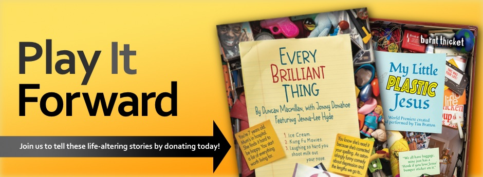 Play It Forward & Donate banner