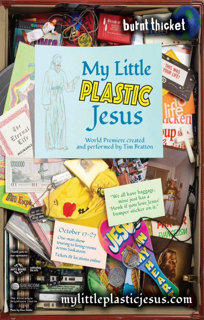 poster for My Little Plastic Jesus