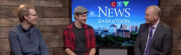 See CTV News & CBC Radio interviews about My Little Plastic Jesus