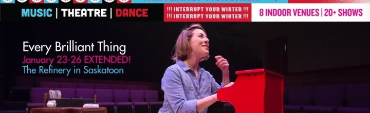 Every Brilliant Thing EXTENDED til Jan 26 & ASL interpreted show Jan 25
