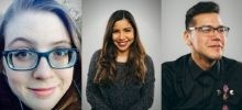 Three new staff members joining our team!